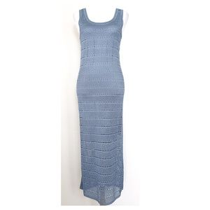 ST. JOHN Sport Crochet Maxi Dress